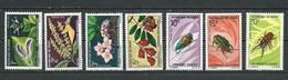 CONGO Scott 222-228 Yvert 268-274 (7) ** Cote 10,90 $ 1970 - Congo - Brazzaville
