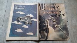 Revue Vu 1934 N° Spécial Aviation Nous Et Les Autres  Aéronautique - Avión