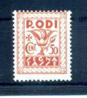 1934 EGEO TASSE N.6 MNH ** - Egeo (Adm. Autónoma)