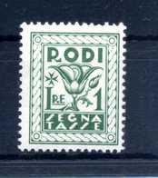 1934 EGEO TASSE N.8 MNH ** - Egeo (Adm. Autónoma)