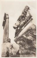 Baalbeck Ruins Lebanon, Corniche Of Temple Of Jupiter, Architecture, C1920s/50s Vintage Real Photo Postcard - Lebanon