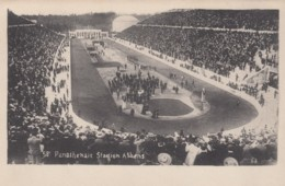 Athens Greeece, Panathenaic Stadion Stadium C1910s/20s Vintage Postcard - Greece