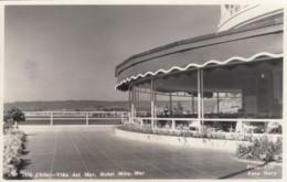 Vina Del Mar Chile, Hotel Mira Mar, Terrace Deck, C1930s Vintage Real Photo Postcard - Chile