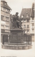 Nuernberg Germany, Hans Sachs Denkmal Monument To Playwright And Poet, C1920s/30s Vintage Real Photo Postcard - Nuernberg