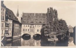 Nuernberg Germany, Heiliggeistspital Holy Spirit Hospital, Medical Theme, C1920s/30s Vintage Real Photo Postcard - Nuernberg