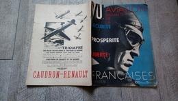 Revue Vu 1936 N° Spécial L' Aviation Garantie Prospérité Liberté Française  Aéronautique - Avión