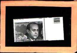 73660)- Italia Repubblica -2010 LEONARDO SCIASCIA -DENTELLATURA SPOSTATA - MNH** - 6. 1946-.. Repubblica