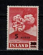 Island 1954  Yv. 250**, Mi 292**, Facit 326**, MNH - 1944-... Republique