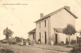 Cpa St Hilaire La Palud La Gare - Autres Communes