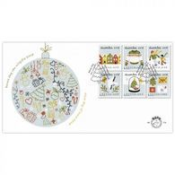 Nederland 2018  Kerstmis  Christmas  Weihnachten Noell  FDC 779 A En B     Postfris/mnh/sans Charniere - Period 1980-... (Beatrix)
