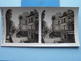 ROUEN : Rue Eau De ROBEC : S. 46 - 4182 ( Maison De La Bonne Presse VUES De FRANCE ) Stereo Photo ! - Photos Stéréoscopiques