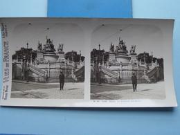 ROUEN : La Fontaine Ste. Marie : S. 46 - 4188 ( Maison De La Bonne Presse VUES De FRANCE ) Stereo Photo ! - Photos Stéréoscopiques