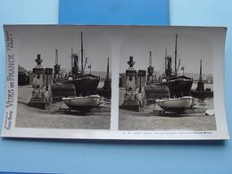 ROUEN : Vue Sur Les Quais Monument Louis Brune : S. 46 - 4187 ( Maison De La Bonne Presse VUES De FRANCE) Stereo Photo ! - Photos Stéréoscopiques