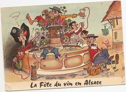 Région Alsace : La Fête Du Vin En Alsace     Réf 5194 - Alsace