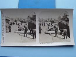 ROUEN : Vue Sur Les Quais : S. 45 - 4176 ( Maison De La Bonne Presse VUES De FRANC) Stereo Photo ! - Photos Stéréoscopiques