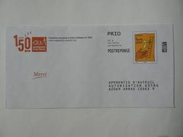 Postréponse Prio 20g, 1 Enveloppe, APPRENTIS D'AUTEUIL, Validité Permanente TB. - Entiers Postaux