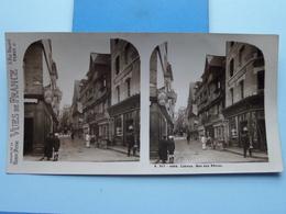 LISIEUX : Rue Aux Fèvres : S. 217 - 4454 ( Maison De La Bonne Presse VUES De FRANCE ) Stereo Photo ! - Photos Stéréoscopiques