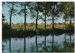 Brazey En Plaine : Le Pays Vu Depuis Le Canal (Editeur Combier, Mâcon, CIM N°E 21103 174.0134) - Autres Communes