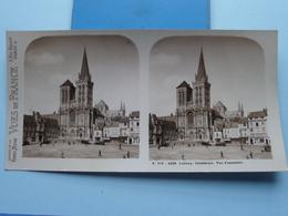 LISIEUX : Cathédrale - Vue D'Ensemble : S. 218 - 4458 ( Maison De La Bonne Presse VUES De FRANCE ) Stereo Photo ! - Photos Stéréoscopiques