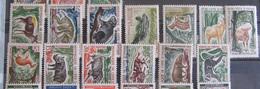 Côte D'Ivoire - Série Animaux - 13 Timbres Neufs** 1964 YT N°211 à 220 - Côte D'Ivoire (1960-...)