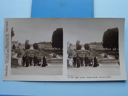 LISIEUX : Ancien Evêché - Vue Sur Le Parc : S. 218 - 4469 ( Maison De La Bonne Presse VUES De FRANCE ) Stereo Photo ! - Photos Stéréoscopiques
