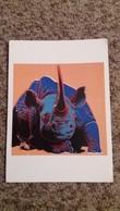 CPM RHINOCEROS ANDY WARHOL 1983 - Rhinocéros