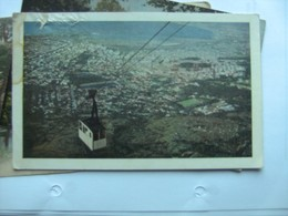 Zuid Afrika South Africa Cape Town Kaapstad Cable Car To Tafelberg - Zuid-Afrika