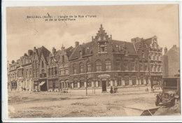AL 797 / CPA BAILLEUL    (59)   L'ANGLE DE LA RUE D'YPRES ET DE LA GRAND'PLACE - France