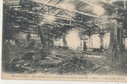 AL 822 / CPA - DOUAI  (59)   Souvenir De La Grande Guerre 1914-1918 INTERIEUR DE L'ARSENAL - Douai