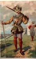 CHROMO  ARQUEBUSIER A PIED 1572 - Cromo