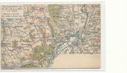 AL 849  / C P A   -METZ    (57)   GRUSS  SCHLACHTFELD  VOM 14-16-U018 AUG 1870 - Metz