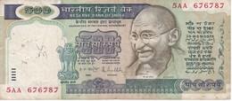 BILLETE DE LA INDIA DE 500 RUPEES    (BANKNOTE) DIFERENTES FIRMAS - India