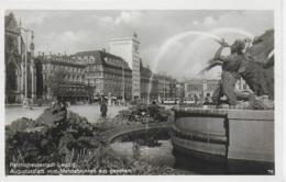 AK 0084  Reichsmessestadt Leipzig - Augustusplatz Vom Mendelbrunnen Aus Gesehen / Verlag Trinks & Co Um 1940 - Leipzig