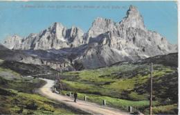 AK 0084  Il Cimon Della Pala Dalla Strada Di Rolle Um 1908 - Bolzano (Bozen)