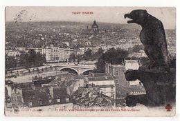 75  PARIS   4ème    Série TOUT PARIS    N°1217    Vue Prise Des Tours Notre Dame - Arrondissement: 04