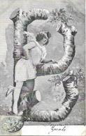 JEUNE FEMME DANS ARBRE - Donne
