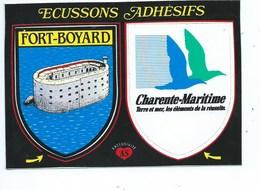 Charente Maritimes Fort Boyard  Ecussons Adhesifs - France
