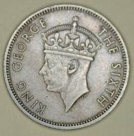Malaya - 20 Cents - 1950 - George VI - Very Fine - Malaysia
