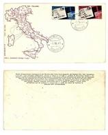 BUSTA FILAGRANO FDC -ADOZIONE CAP -1967 (4/11) - 6. 1946-.. Republik