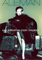 ALEMAN UN IDIOMA CON MUNDO LOOK AND TAKE 2000 POSTAL MODERNA PUBLICIDAD ARGENTINA  -LILHU - Reclame