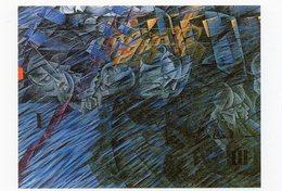 CPM - N - PEINTURE DUMBERTO BOCCIONI - ETATS D'AME :CEUX SUI PARTENT - 1911 - THE MUSEUM OF MODERN ART - NEW YORK - Peintures & Tableaux