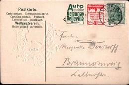 ! Alte Ansichtskarte 1911 Ilfeld Studentika, Burschenschaft Hasso Borussia, Zusammendruck Reklame Delauny, Naturwein - Zusammendrucke