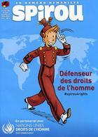 Spirou N°4200 - Octobre 2018 - Défenseur Des Droits De L'homme - Spirou Magazine