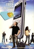 ALQUILER FREE DE TELEFONICA GSM PHONERENTAL 2007 LOOK AND TAKE POSTAL MODERNA PUBLICIDAD ARGENTINA  -LILHU - Reclame