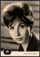 B9607 - Vera Oelschlegel - Autogrammkarte - Reichenbach - Deutscher Fernsehfunk - DDR - Autographes