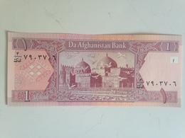 Billete Afganistán. 1 Afgani. 2002. Sin Circular - Afghanistan