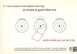 I HAVE A REALY GOOD IDEA CLIMATECRISIS 2007 POSTAL MODERNA PUBLICIDAD ARGENTINA  -LILHU - Reclame
