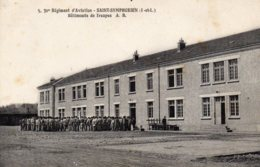 SAINT SYMPHORIEN - Camp  D'Aviation  - Batiments De Troupe - Autres Communes