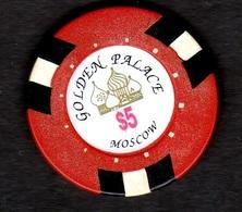 Russia. Moscow. Casino. Golden Palace. Fishka. - Casino