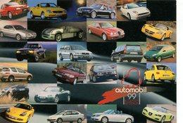AUTOMOBIL 1999 BUDAPESTI AUTOSZALON POSTAL MODERNA PUBLICIDAD ARGENTINA  -LILHU - Reclame